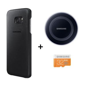 ACCESSOIRES SMARTPHONE Samsung Pack Charge Induction + Coque pour Galaxy