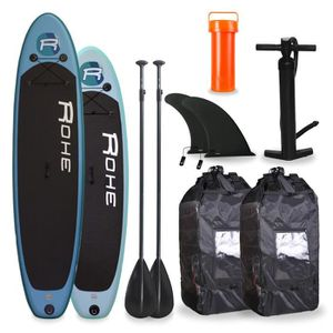 STAND UP PADDLE ROHE Pack Famille Paddle 10'6 + Paddle 9'0 - Avec
