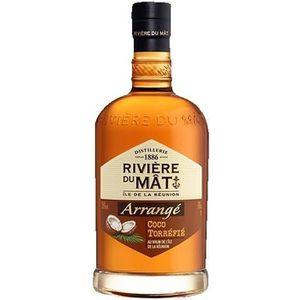 RHUM Rivière du Mât - Rhum Arrangé Coco - 35% - 70 cl