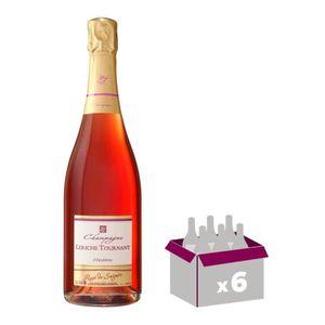 CHAMPAGNE LERICHE TOURNANT Champagne - Brut - Rosé de saigné