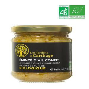 AUTRES SAUCES FROIDES Emincé d'ail confit à l'huile d'olive extra vierge