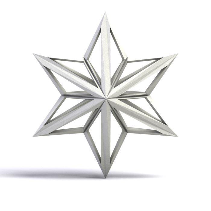 Suspension étoile Filante 6 Branches Personnalisée Achat Vente