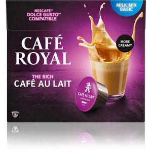 CAFÉ - CHICORÉE Lot de 96 capsules Café Royal Dolce Gusto Café au