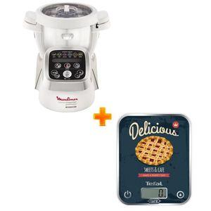 ROBOT DE CUISINE Pack Spécial: MOULINEX - Robot cuiseur Companion H