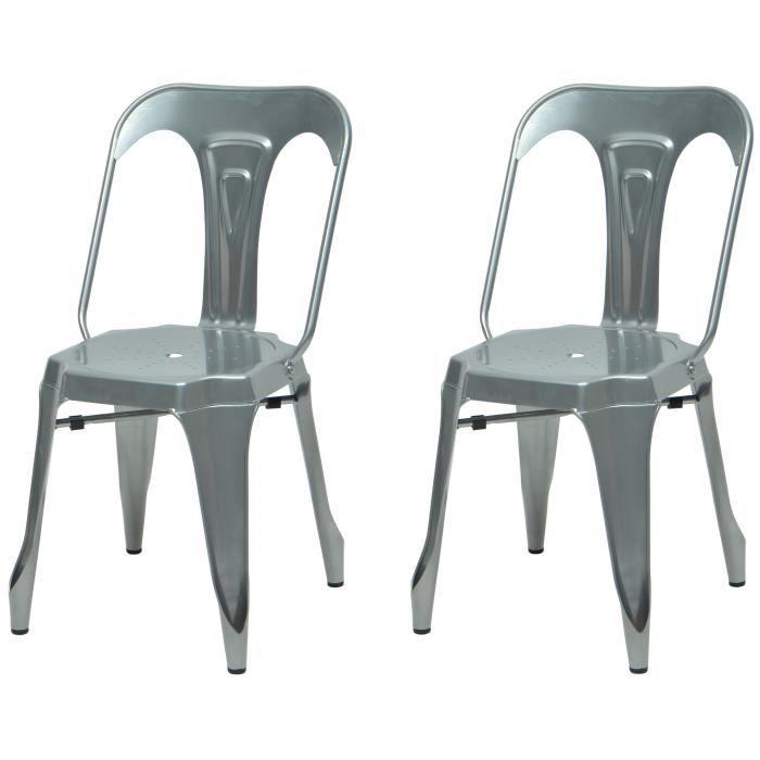 chaise tolix - achat / vente pas cher