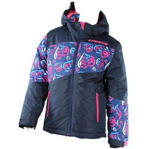 BLOUSON DE SKI FREEGUN Veste ski - Multicolore - Enfant Fille