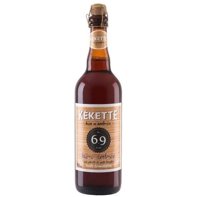 BIÈRE Kékette - Bière Ambrée - 6.9° - 75 cl