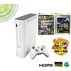 CONSOLE XBOX 360 PACK XBOX 360 ARCADE BEST GAME