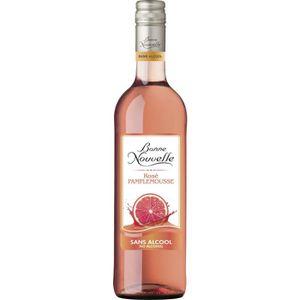 Apéritif à base de vin Bonne Nouvelle - Rosé - Pamplemousse - Boisson à B