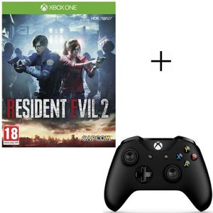 JEU XBOX ONE Resident Evil 2 Jeu Xbox One + Manette sans fil Xb