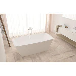 BAIGNOIRE - KIT BALNEO Baignoire ilot rectangulaire design 168x75 cm en a