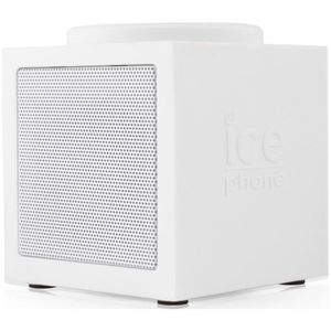 ENCEINTE NOMADE ICE PHONE ICE-MUSIC Enceinte Bluetooth Blanche