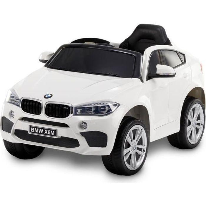 VOITURE ENFANT BMW X6 Voiture électrique enfant - Blanc