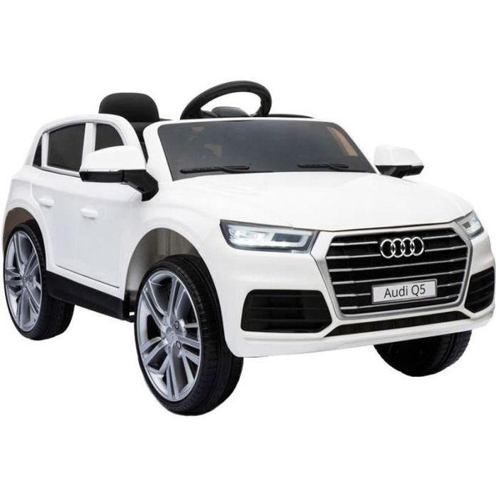 audi q5 voiture électrique enfant - blanc - achat / vente voiture