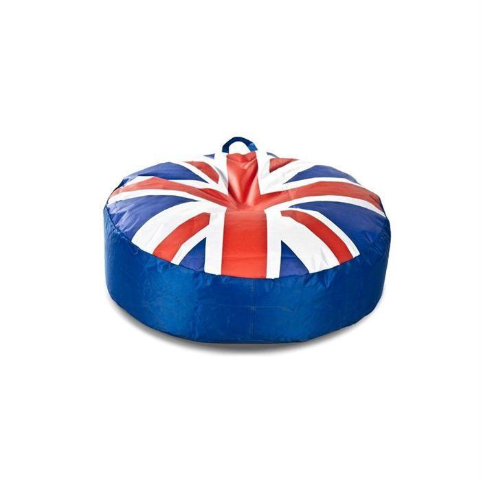 V40 DESIGN Pouf Rond Union Jack Achat Vente Pouf Poire Cdiscount Beauteous Pouf En Anglais