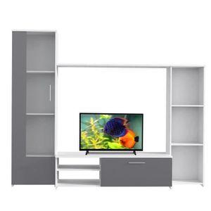 """MEUBLE TV Ensemble Meuble TV FINLANDEK + TV Oceanic  HD 32"""""""