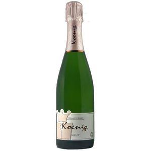 PÉTILLANT & MOUSSEUX KOENIG Crémant d'Alsace Casher - Blanc - 75 cl - A