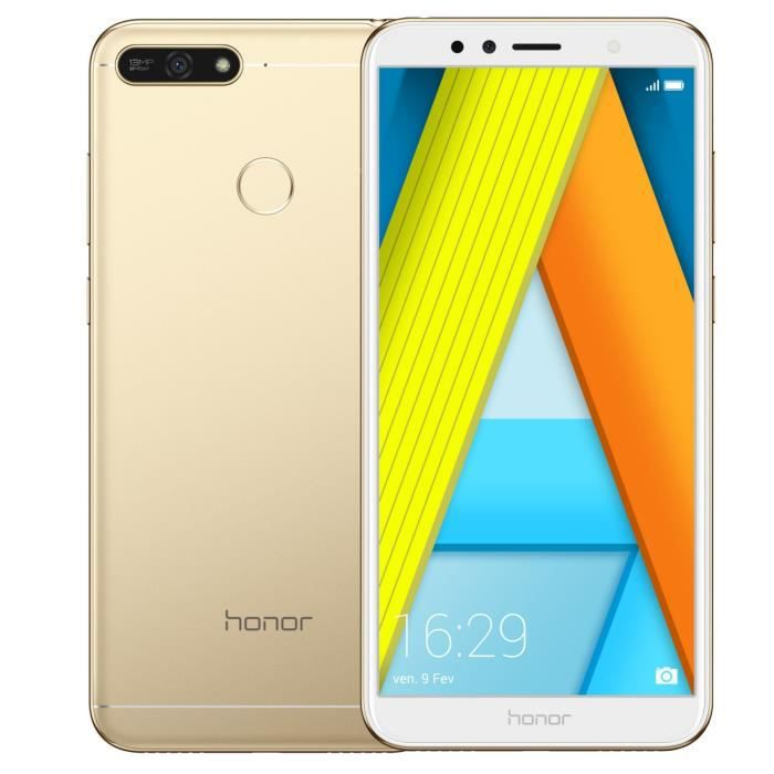 SMARTPHONE Honor 7A Or