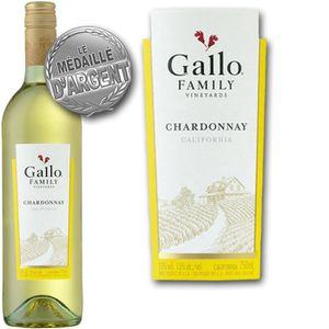VIN BLANC Gallo Family Chardonnay Californie vin blanc x1
