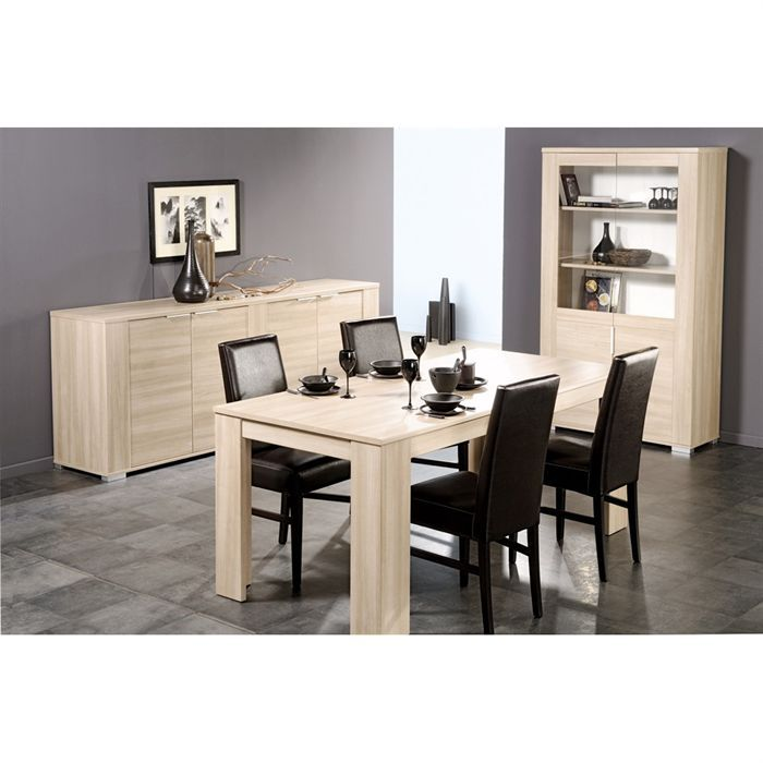 awesome table salle a manger beige photos amazing house design. Black Bedroom Furniture Sets. Home Design Ideas