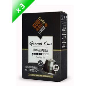 CAFÉ - CHICORÉE 30 capsules Compatibles Nespresso SUD OUEST CAFE G