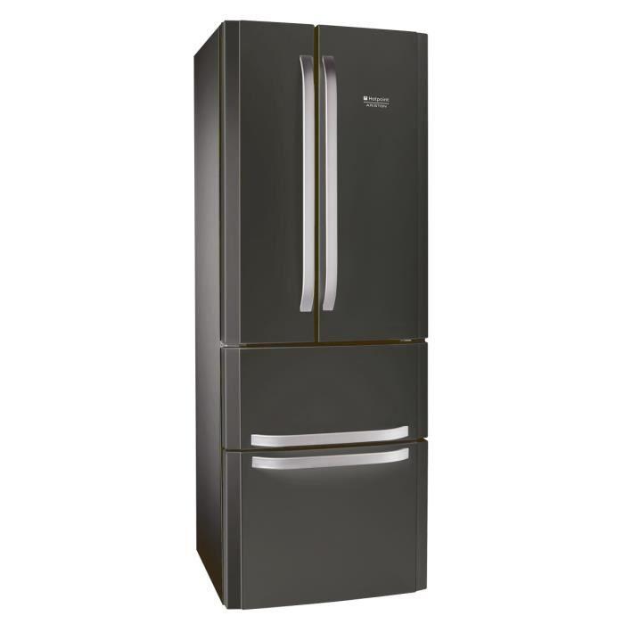 HOTPOINT E4DAASBC - Réfrigérateur multi-portes - 402L (292+110 ...