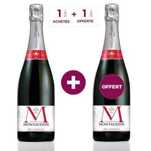 CHAMPAGNE 1 ACHETEE = 1 OFFERTE - Champagne MONTAUDON Brut H