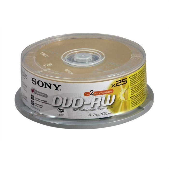 Sony Dvd Rw 1x 2x Prix Pas Cher Cdiscount