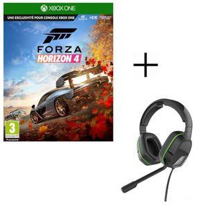 JEU XBOX ONE Forza Horizon 4 Jeu Xbox One + Casque Afterglow LV