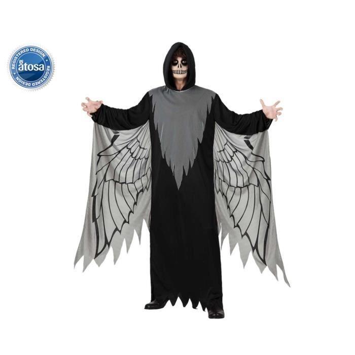 Image D Ange Homme atosa déguisement d'ange noir homme - achat / vente déguisement