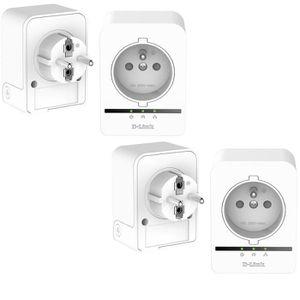 COURANT PORTEUR - CPL D-Link Pack 4 adaptateurs CPL 500mbps avec prise i