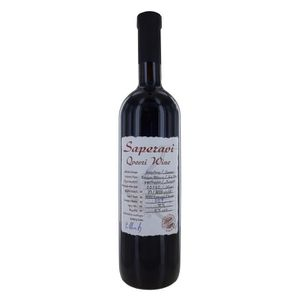 VIN ROUGE KTW Saperavi 2016 Qvevri Wine - Vin Rouge de Georg