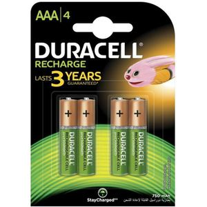 PILES DURACELL Recharges Plus Piles Rechargeables type L