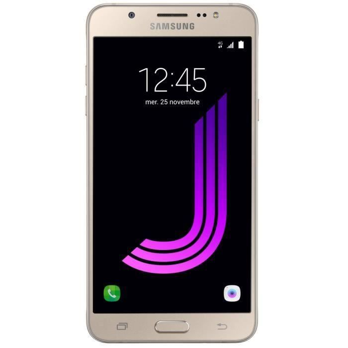 SMARTPHONE Samsung Galaxy J7 2016 Or
