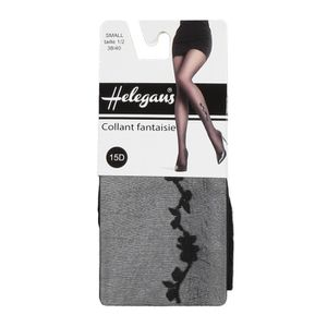 COLLANT HELEGANS Collant Papatya 15D Gris Anthracite Femme