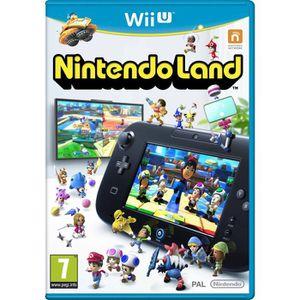 JEU WII U Nintendo Land Jeu Wii U (12 Jeux Inclus)