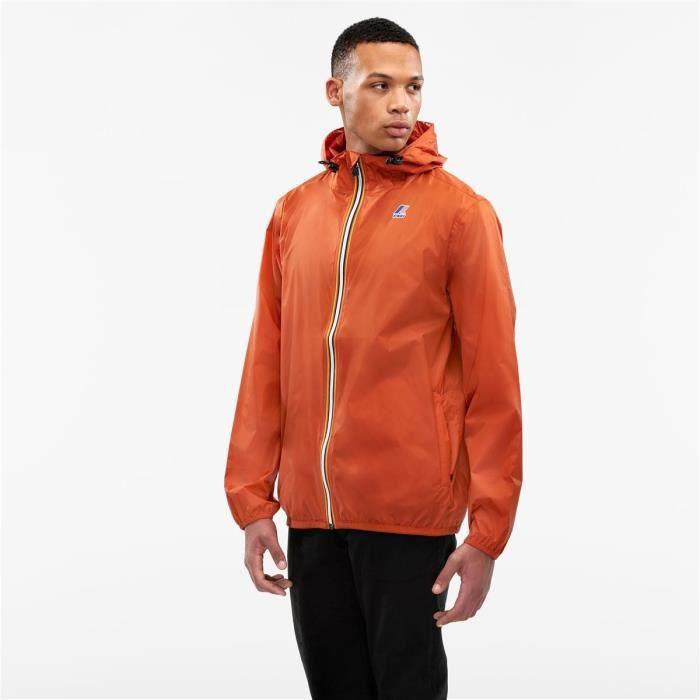 b7d21e8338ec K-WAY Coupe-vent - Homme - Orange flame Orange flame - Achat   Vente ...