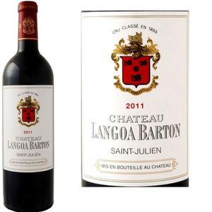 VIN ROUGE Château Langoa Barton Saint Julien 2011 - Vin r...