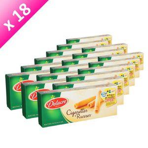 BISCUITS SECS DELACRE Cigarettes Russes 200g (x18)