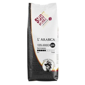 CAFÉ - CHICORÉE SUD OUEST CAFE L'Arabica Grain 1kg