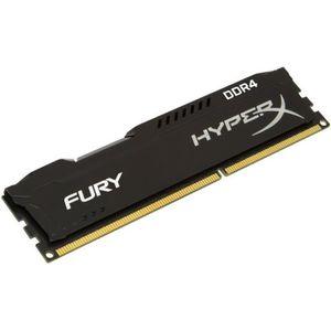 MÉMOIRE RAM HyperX Mémoire PC FURY Black 8Go 2400MHz DDR4 CL15