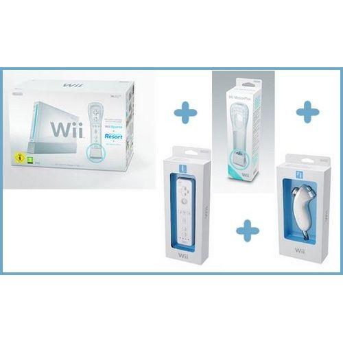 CONSOLE WII CONSOLE Wii SPORTS + la seconde Wiimote + le secon