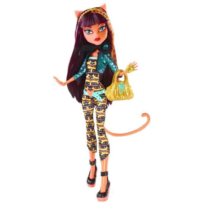monster high fusion cleo toralei achat vente poup e. Black Bedroom Furniture Sets. Home Design Ideas
