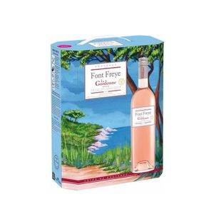 VIN ROSÉ LA GORDONNE Font Freye Vin de Provence - Rosé - 3