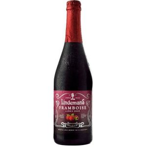BIÈRE BRASSERIE LINDEMANS Framboise Bière Rouge Aromatis