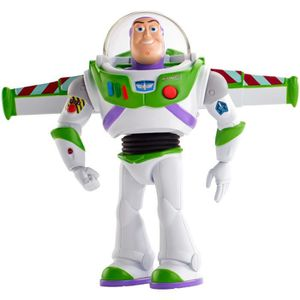 FIGURINE - PERSONNAGE TOY STORY 4 - Buzz l'Eclair Super Action - Figurin