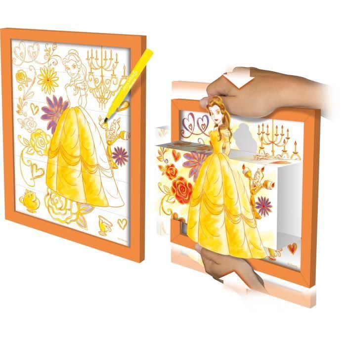 JEU DE MODE - COUTURE - STYLISME DISNEY PRINCESSES Color-3d - Modèle Belle