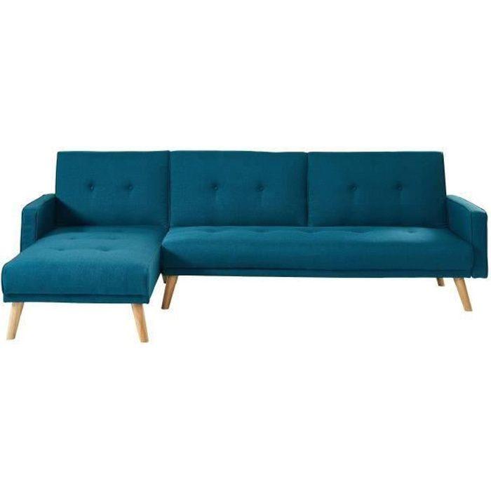 Canapé d\'angle Bleu
