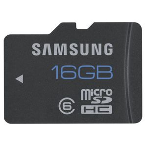 CARTE MÉMOIRE microSD Carte mémoire 16Go de Samsung