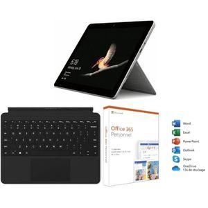 ORDINATEUR 2 EN 1 Surface Go 8Go RAM 128Go SSD + Type Cover Noire +